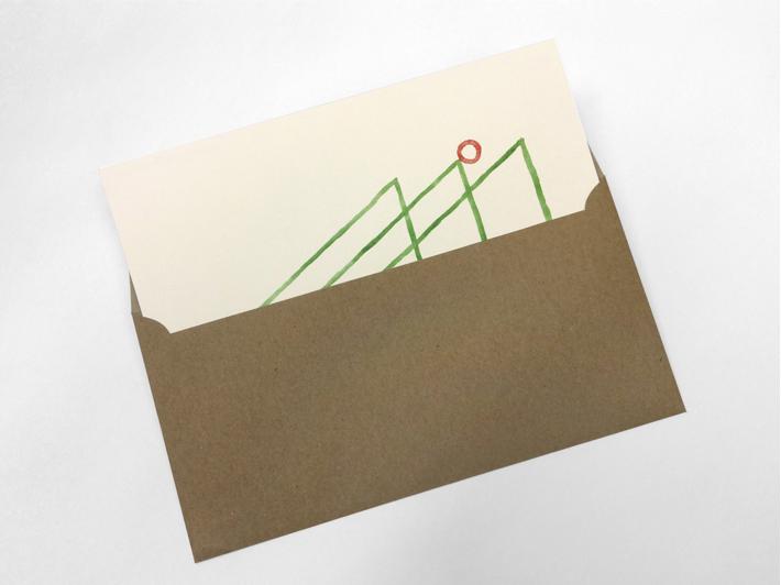 Weihnachtskarte für die Kunsthochschule Kassel